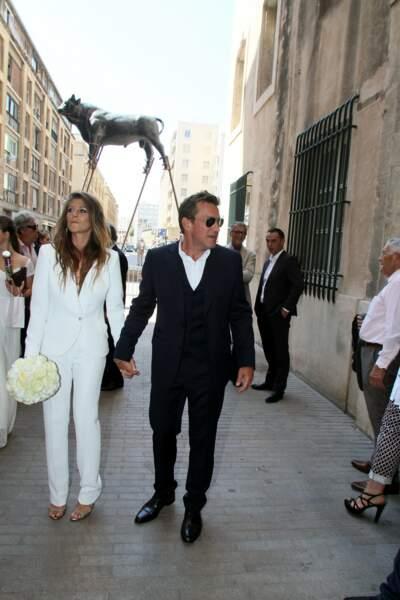 C'est le samedi 27 août que Benjamin Castaldi et Aurore Aleman se sont dit oui à Marseille.