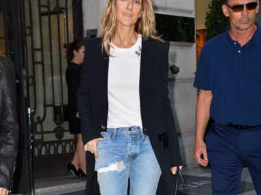 Céline Dion s'affiche sans maquillage dans les rues de Paris (8 PHOTOS)