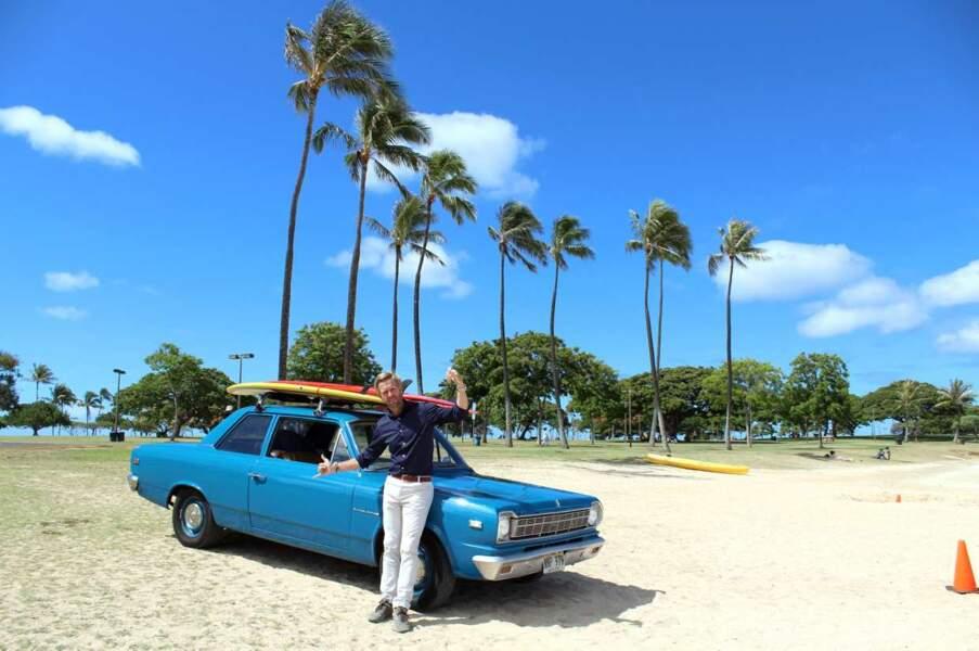 ... ici, à Hawaï (et sous un grand soleil)