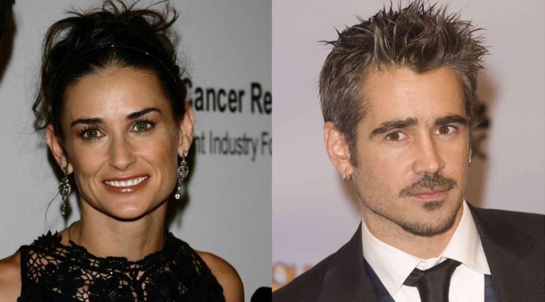 L'acteur ne perd pas de temps, sitôt célibataire, il saute sur Demi Moore...