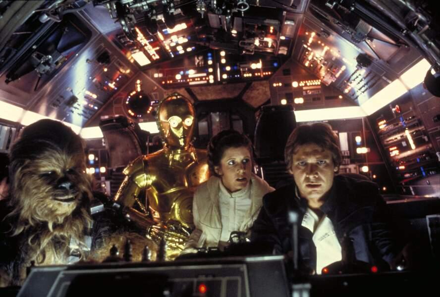 À bord du Faucon millénaire dans L'Empire contre-attaque (1980)