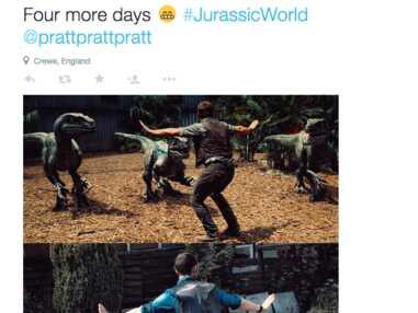 Jurassic World : Quand une scène avec Chris Pratt se fait parodier sur internet