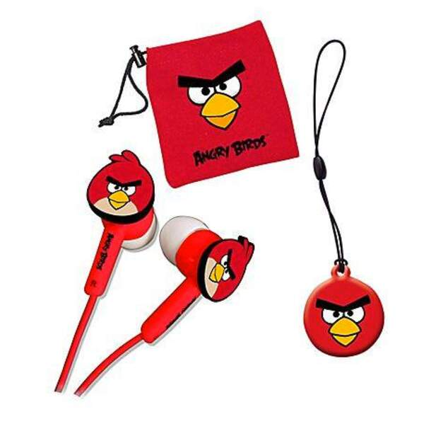 Écouteurs Angry Birds