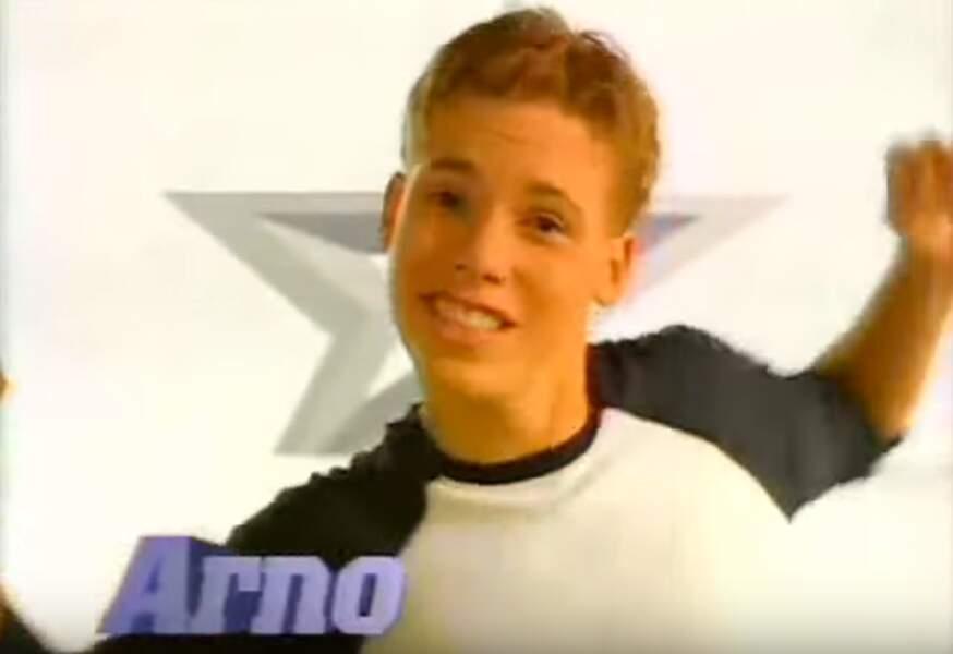 Pas encore majeur et tout foufou, Arno s'élançait dans la Star Ac'5 en 2005…