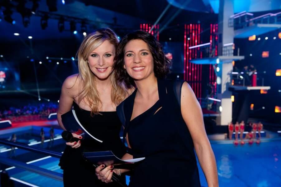 Estelle Denis et Julie Taton, les deux animatrices du show !