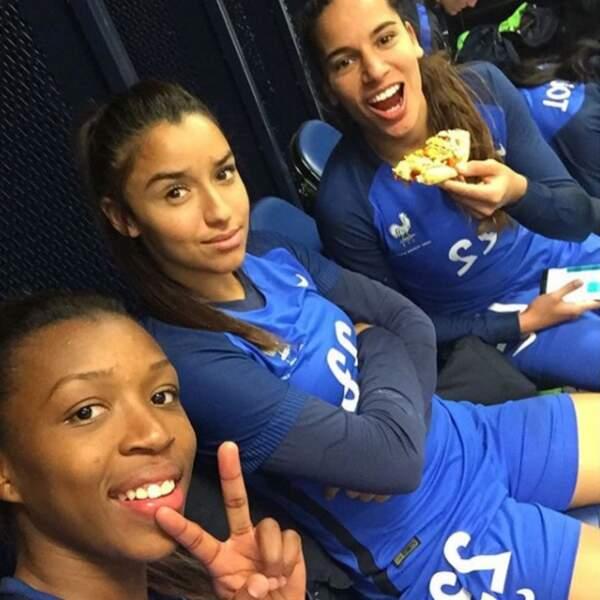 Arrivée en 2016 chez les Bleues, Sakina Karchaoui dispute sa première Coupe du monde !