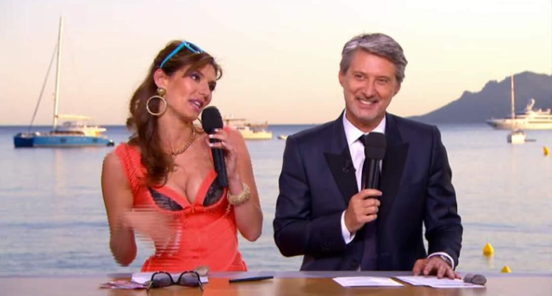 """Dans la catégorie """"décolletés"""" : Doria Tillier, il y a du monde au balcon !"""