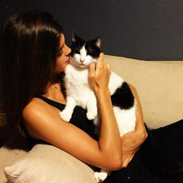 Et Miss France 2016 nous a présenté son chat, Glucose !