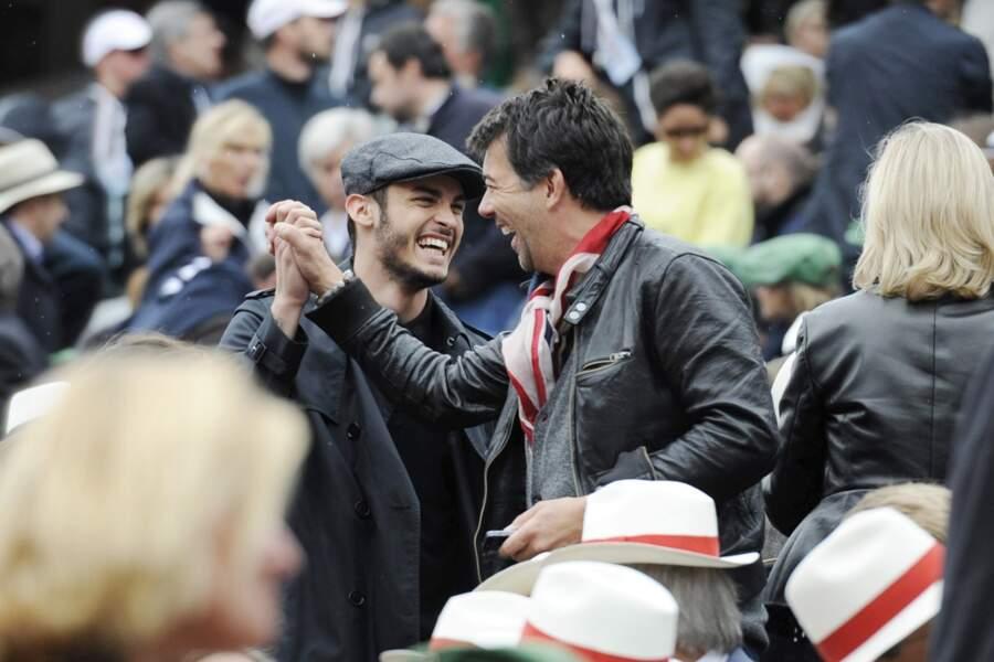 Stéphane Plaza vient de faire une blague hilarante à Baptiste Giabiconi.