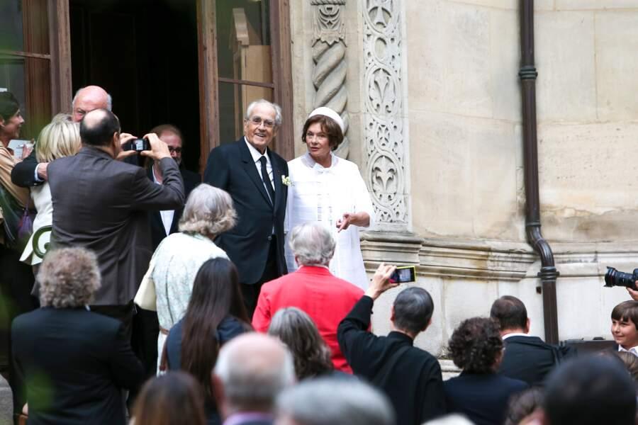 Le couple s'était marié à la cathédrale Saint-Alexandre-Nevsky de Paris le 18 septembre 2014