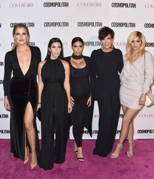 Les Kardashian ont redoublé d'effort (et de chirurgie) pour être des copies conformes.