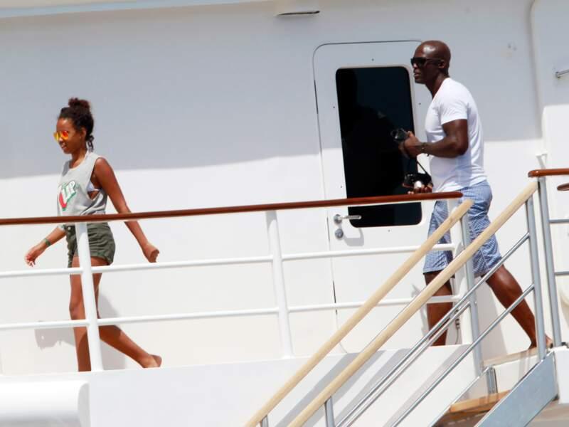Baby-sitting pour Seal à Formentera (décidément).