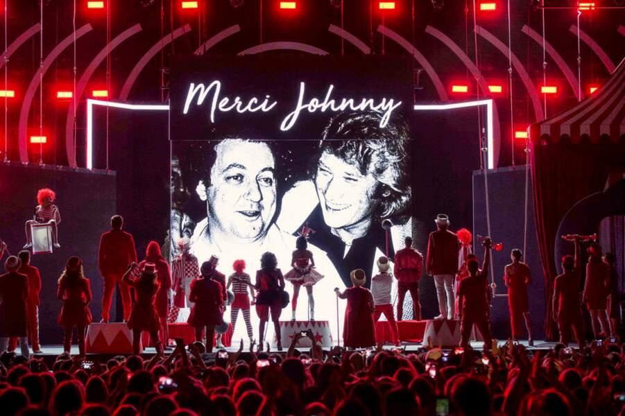 Un hommage vibrant a été rendu à Johnny Hallyday