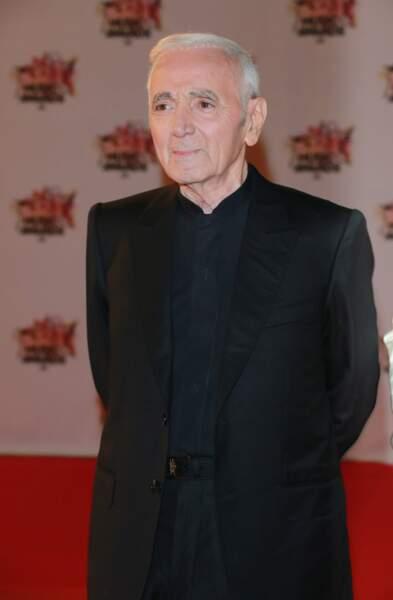 Charles Aznavour, invité surprise des NRJ Music Awards 2015