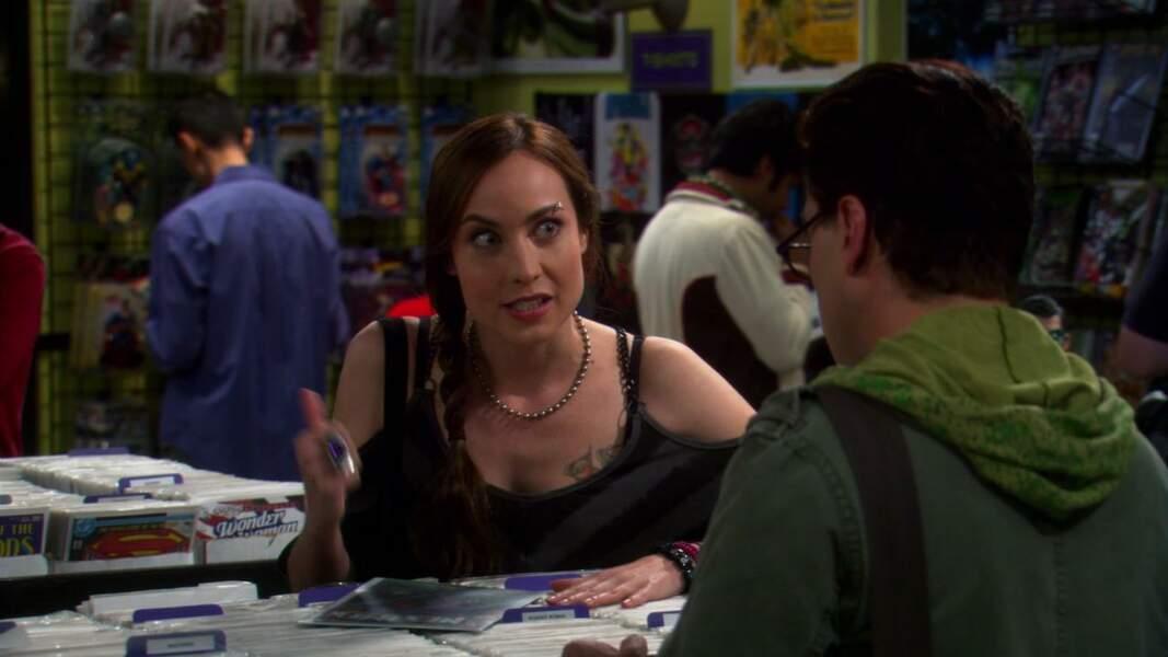 Courtney Ford, alias Nora Darhk dans Legends of Tomorrow, est aussi passée par la case The Big Bang Theory