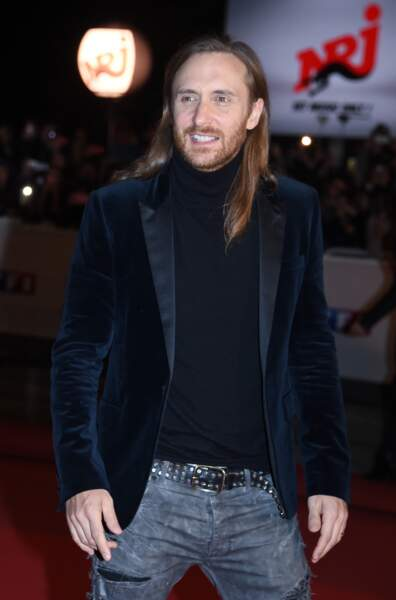 David Guetta sur le tapis rouge des NRJ Music Awards