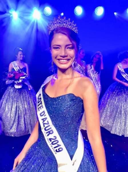 Manelle Souahlia a été élue Miss Côte d'Azur le dimanche 28 juillet à Mandelieu-la-Napoule