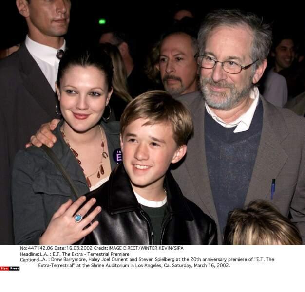 Et toujours aux côtés des plus grands, comme Steven Spielberg, avec qui il a tourné