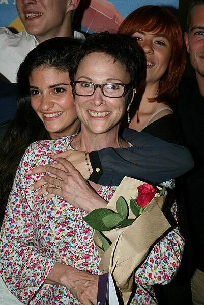 Ariane en compagnie de sa fille Eléonore, comédienne, en 2014