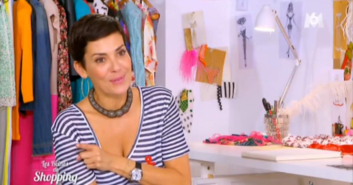 Look simple et efficace by Cristina Cordula : le t-shirt marinière, le top du staïle !
