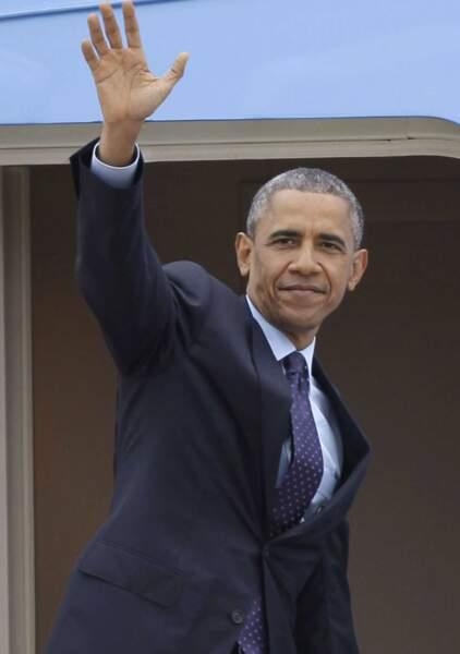 24ème place. Barack Obama, le président des Etats-Unis, gagne 20 places.