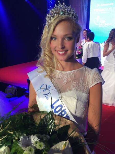 Cloé Cirelli (23 ans) a été élue Miss Lorraine