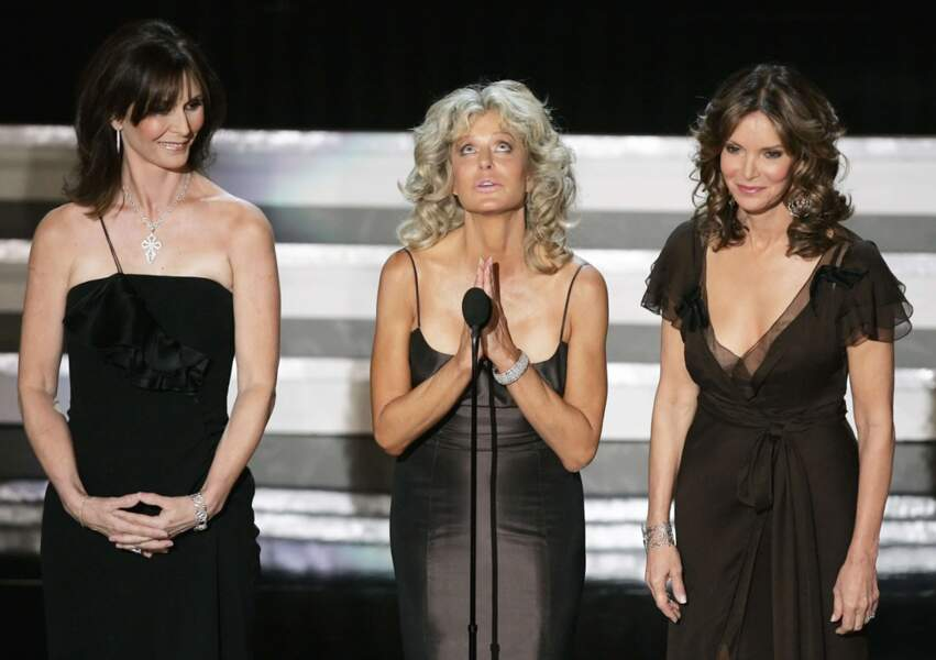Kate Jackson, Farrah Fawcett et Jaclyn Smith en 2006