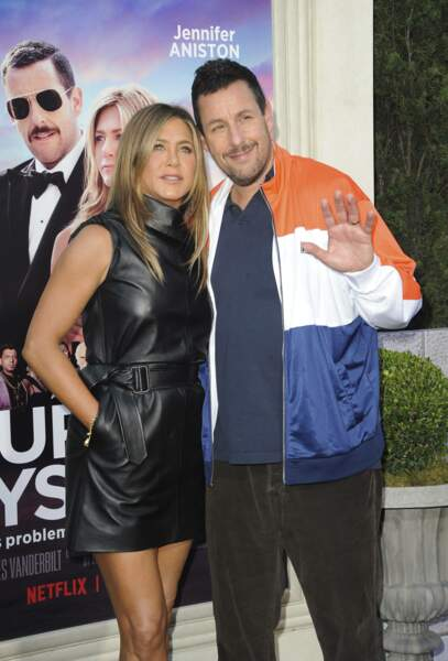 Jennifer Aniston et Adam Sandler