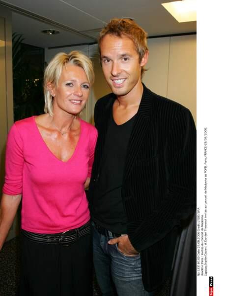 Avec son complice de (feue) C'est au programme, Damien Thévenot, en 2006