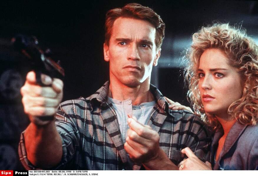 Aux côtés d'Arnold Schwarzenegger dans Total Recall