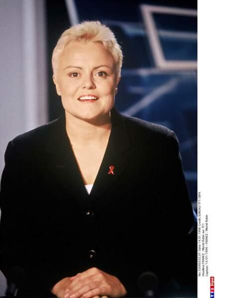 Muriel Robin en 1996 exactement