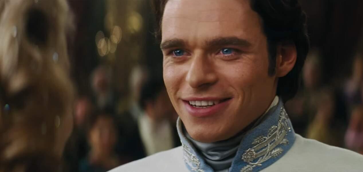 Il a ensuite joué le Prince dans le film Cendrillon