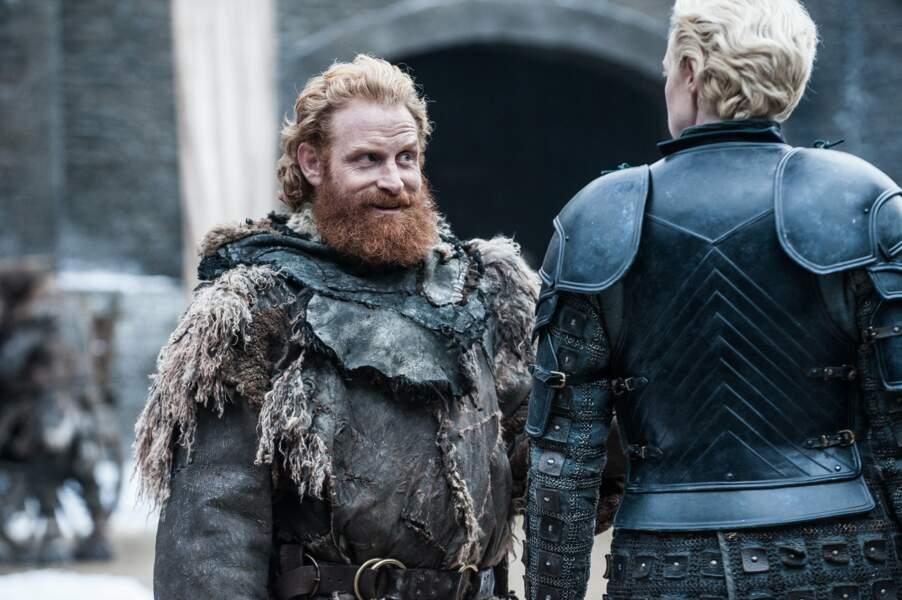 Voilà une photo qui va faire couler beaucoup d'encre parmi les fans qui espèrent voir Tormund et Brienne en couple