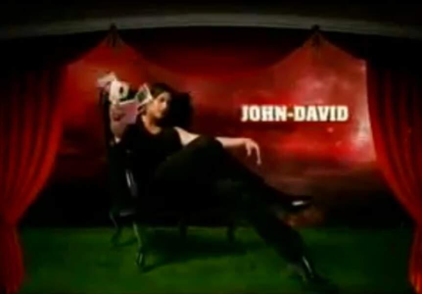 """John-David (Saison 2). Son secret : """"J'ai 780 conquêtes à mon tableau de chasse"""""""