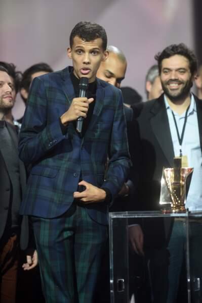 Stromae a reçu le prix du concert de l'année