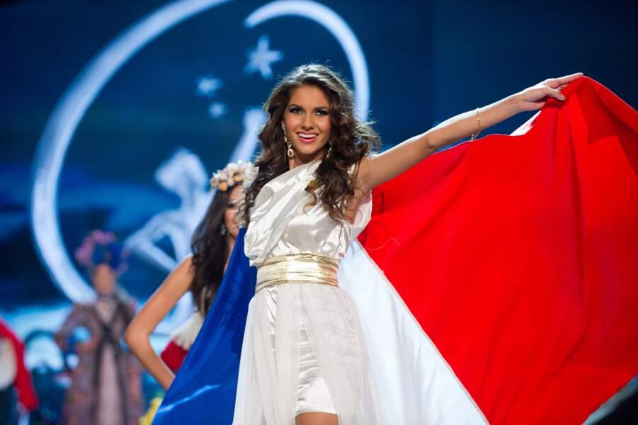 Deuxième dauphine de Delphine Wespiser, Miss France 2012, Marie a fini dans les dix premières