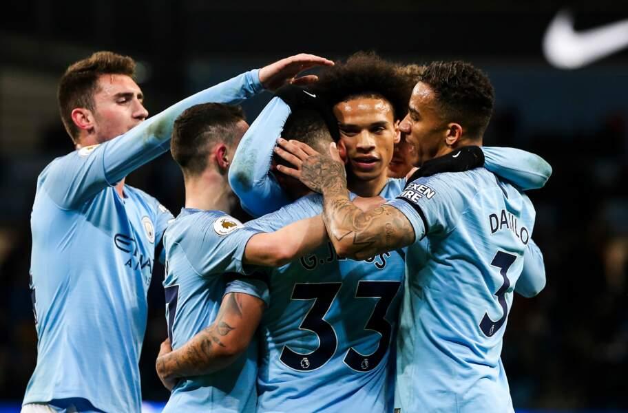 5 : Manchester City avec 568,4 millions d'euros
