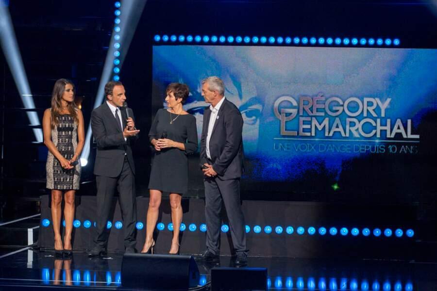 Karine Ferri, Nikos et les parents de Grégory Lemarchal... émus.