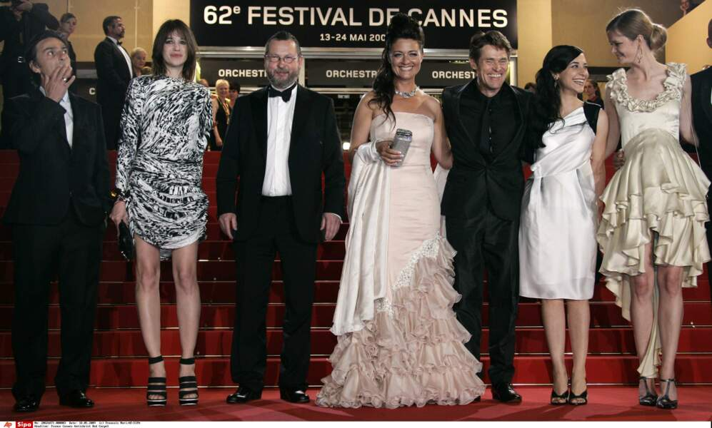 Lars Von Trier est accusé de misogynie en 2009 suite à la projection du film Antechrist avec Charlotte Gainsbourg