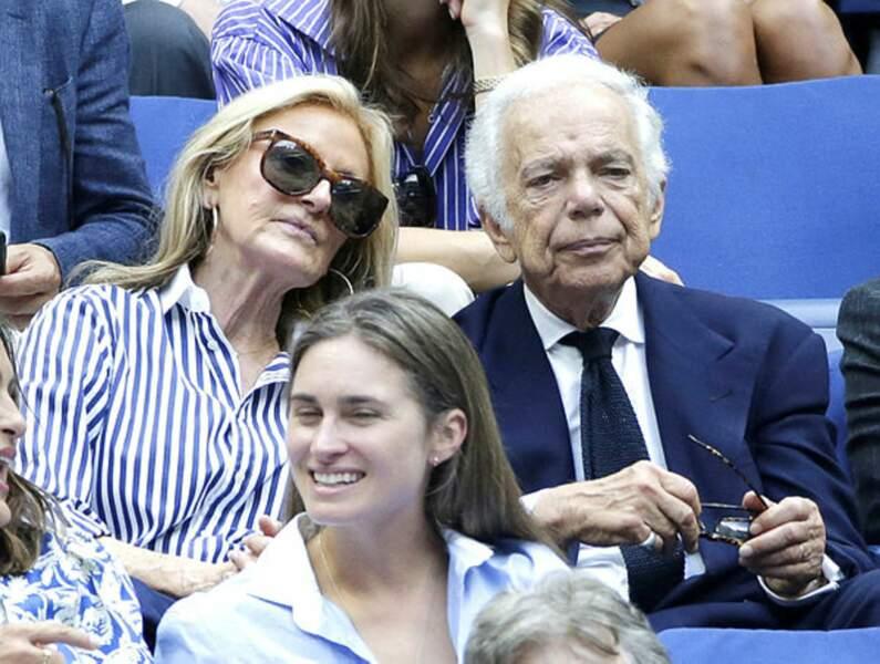 En famille pour Ralph Lauren, son épouse ainsi que sa belle fille Lauren Bush