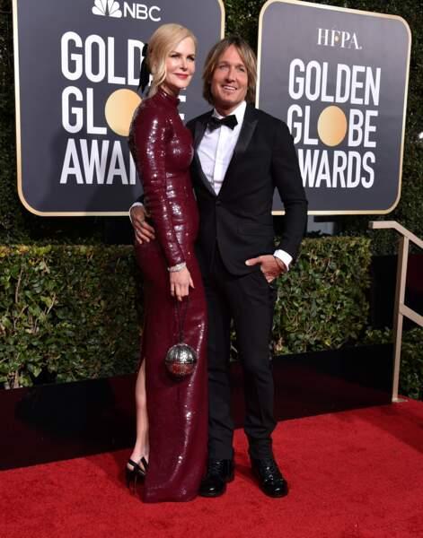 Nicole Kidman ne se déplace plus sans son mari Keith Urban ! Ah l'amour !