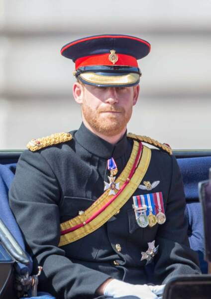 Trooping the Colour à Londres le 9 juin 2018