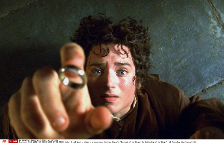 Elijah Wood alias Frodon Sacquet le Hobbit
