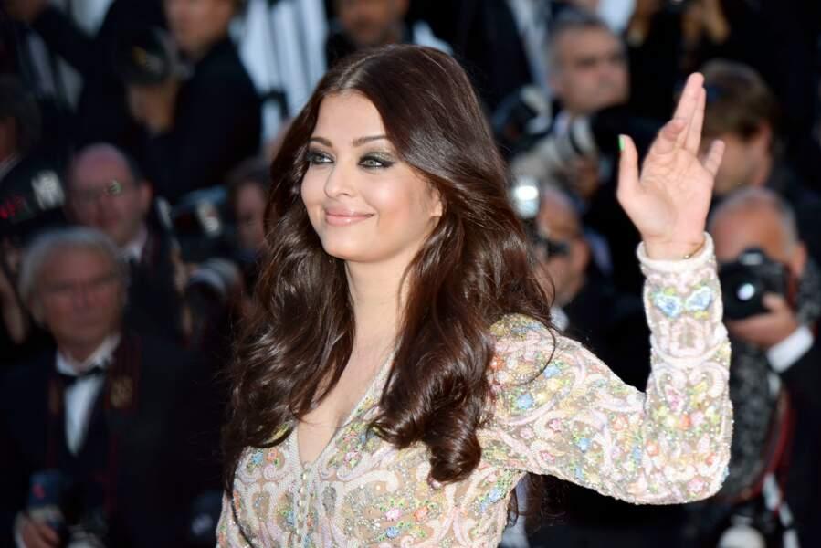 Et un petit salut de Miss pour Aishwarya Rai, la princesse du Bollywood.