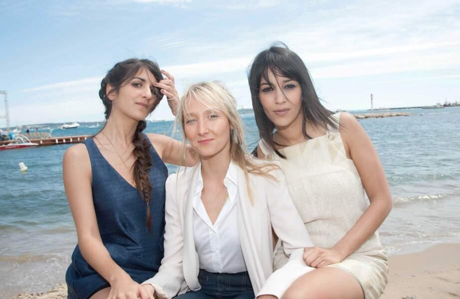 """Avec les copines Géraldine Nakache et Audrey Lamy, au moment de la sortie de """"Tout ce qui brille"""" (2010)"""