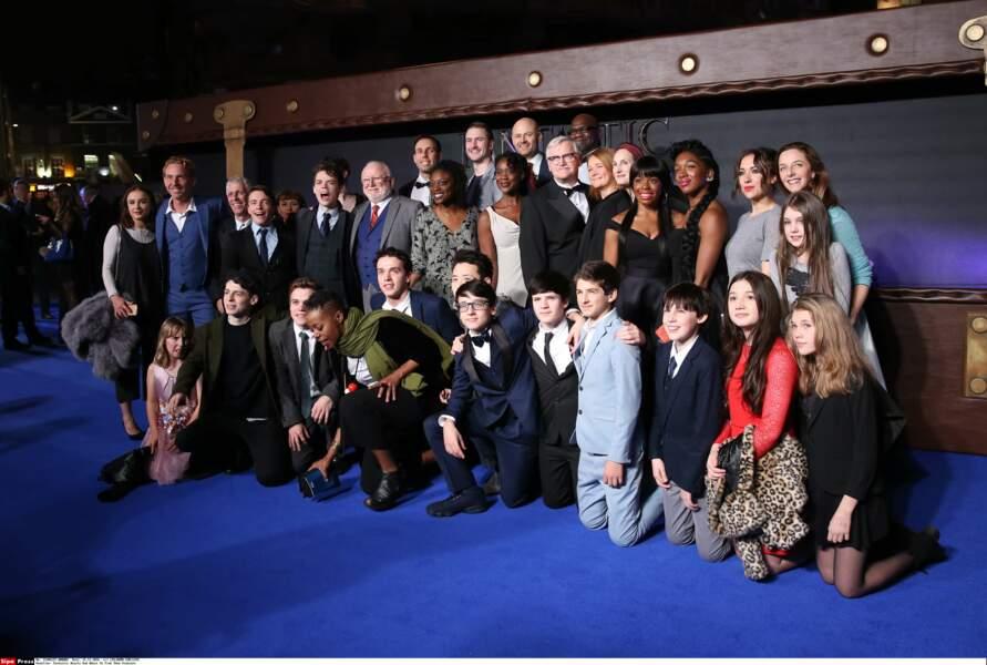 Parmi les nombreux invités de cette avant-première figurait le cast d'Harry Potter et l'enfant maudit