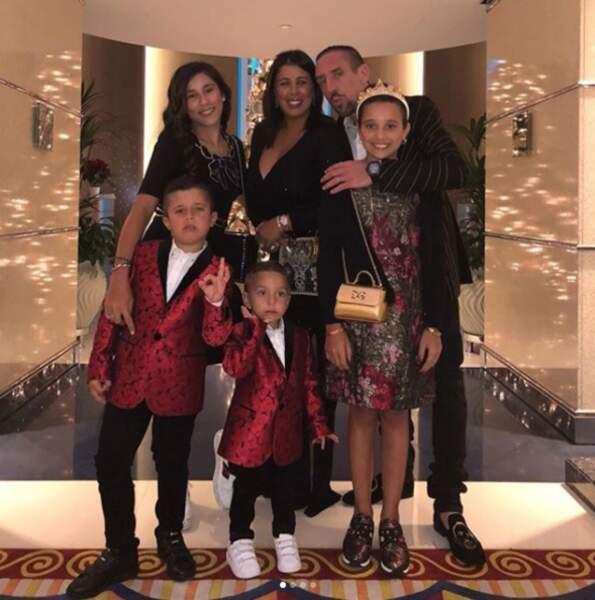 La famille Ribéry s'est mise sur son 31 !