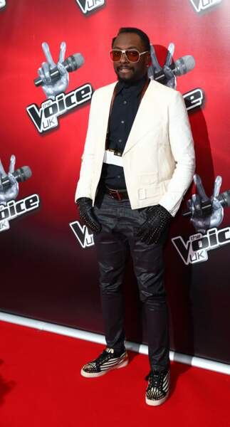 Will.i.am, juré sur The Voice UK (saisons 1 à 3) et Australie (saison 3)