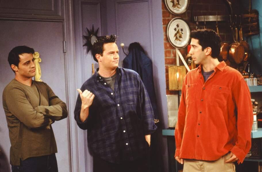 Et les garçons : Joey, Chandler et Ross