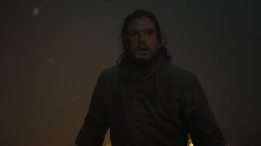Mais Jon Snow ne s'attendait pas à voir ça…